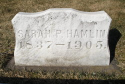 Sarah Purington <i>Thompson</i> Hamlin