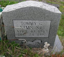 Tommy Gene Sims, Sr