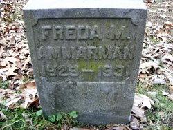 Freda M. Ammarman