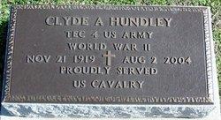 Clyde A Hundley