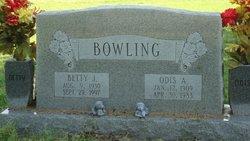 Betty Jane <i>Carter</i> Bowling