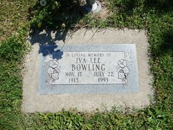 Iva Lee <i>Smith</i> Bowling
