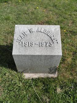 Jean W Albright