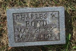 Charles W Boyd