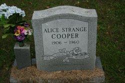 Alice <i>Strange</i> Cooper