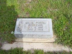 Willie Lou <i>Eden</i> Anderson