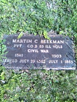 Martin C Beekman