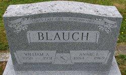 Annie L <i>Holsburg</i> Blauch