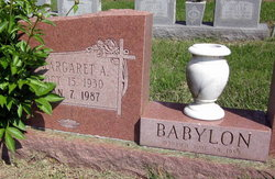 Margaret Ann <i>Nenno</i> Babylon