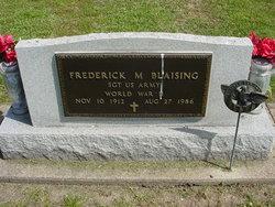 Frederick M Blaising