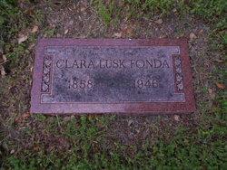 Clara Helen <i>Lusk</i> Fonda