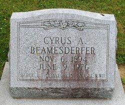 Cyrus A Beamesderfer