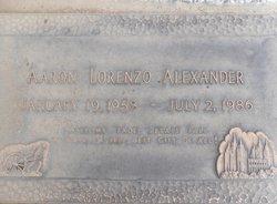 Aaron Lorenzo Alexander