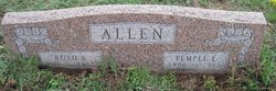 Temple L Allen