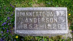 Martha Jeannette <i>Dallas</i> Anderson