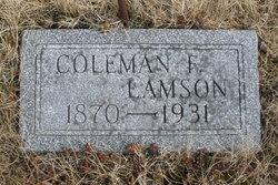 Coleman Fisher Lamson
