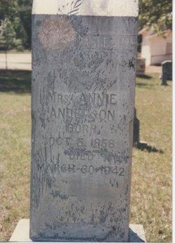Annie <i>Hamilton</i> Anderson
