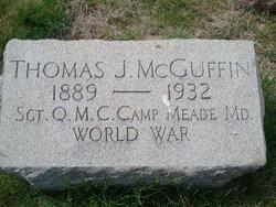 Sgt Thomas J McGuffin