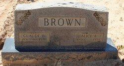 Claude B Brown