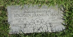 Benjamin Franklin Mann, Sr