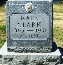 Francis Catherine Kate <i>Spiva</i> Clark