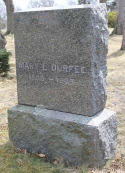 Mary Leonard <i>Davis</i> Durfee