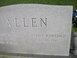 Myrna Rawlings Allen