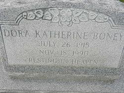 Dora Katherine Boney