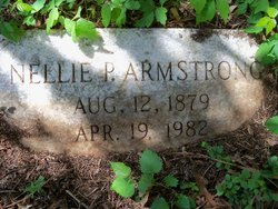 Nellie P Armstrong