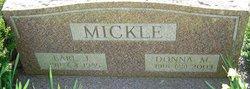 Earl J Mickle
