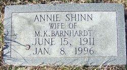 Annie <i>Shinn</i> Barnhardt