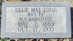 Ollie Mae <i>Long</i> Barnhardt