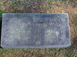 Grace <i>Troutman</i> Wilson
