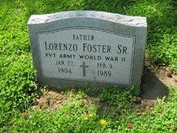 Pvt Lorenzo Foster, Sr