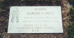 Rev Desmond R. Des O'Neill