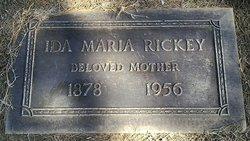 Ida Marie <i>Webster</i> Rickey