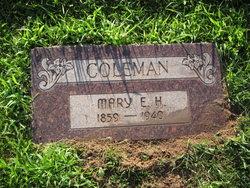Mary Elizabeth <i>Harris</i> Coleman