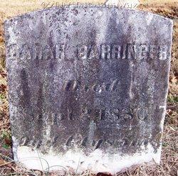 Sarah M. B. <i>Lentz</i> Barringer