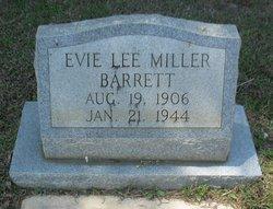 Evie Lee <i>Miller</i> Barrett