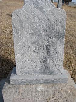 Carrie J <i>Steele</i> Boyd