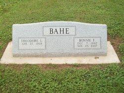 Bonnie Bahe