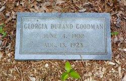 Georgia <i>Durand</i> Goodman
