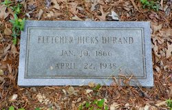 Fletcher <i>Hicks</i> Durand