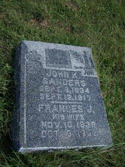 Frances Jane <i>Scobee</i> Sanders