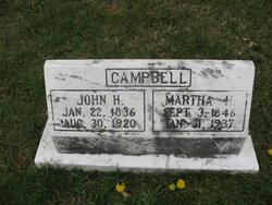 Martha H <i>Hays</i> Campbell