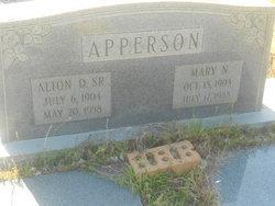 Alton D. Apperson, Sr