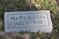 Fannie Barbara <i>Davis</i> Cobb