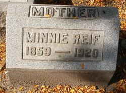 Minnie <i>Thielke</i> Reif