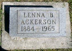 Lenna B. <i>Fry</i> Ackerson