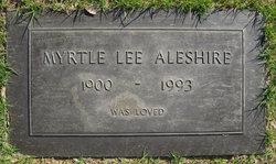 Myrtle <i>Thompson</i> Aleshire